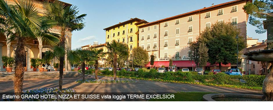 Grand hotel nizza et suisse hotel 4 star in montecatini - Star italia bagni ...
